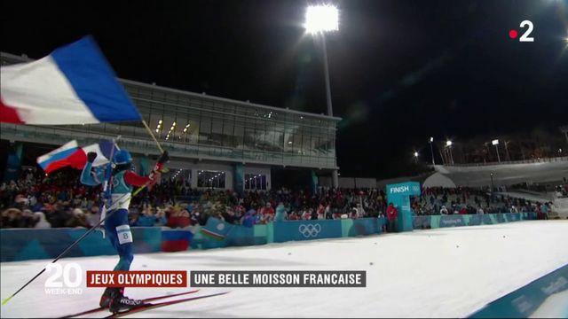 Jeux olympiques : une belle moisson française