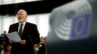 En décembre 2017, la Commission européenne a déclenché l'article 7 du Traité sur l'Union européenne contre la Pologne pour risque de violation grave de l'Etat de droit. Une procédure que le premier Ministre Polonais conservateur semblait remettre en cause en août dernier. (REUTERS/VINCENT KESSLER)