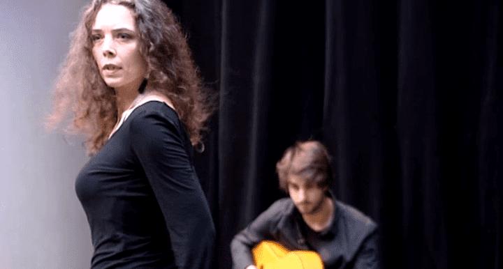Assuntina danse le flamenco depuis 10 ans  (capture d'écran France 3 / Culturebox)