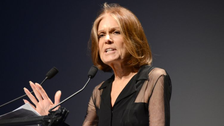 Gloria Steinem à New-York en 2013.  (Andrew H. Walker / GETTY IMAGES NORTH AMERICA / AFP)