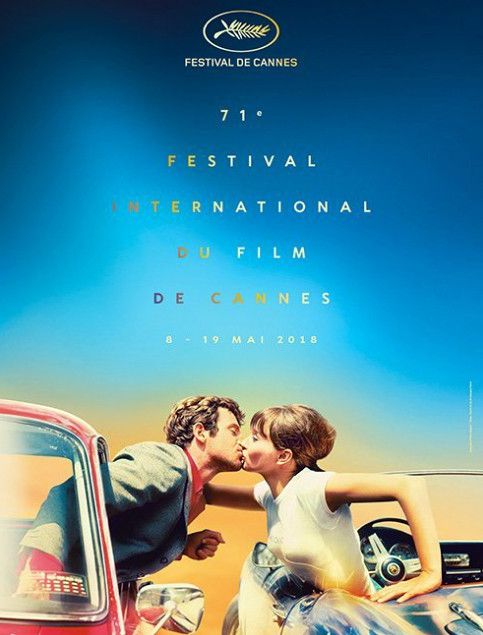 L'affiche de la 71e édition  (Georges Pierre / Festival de Cannes)