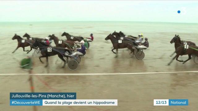 Manche : les courses hippiques de Jullouville sont de retour sur la plage