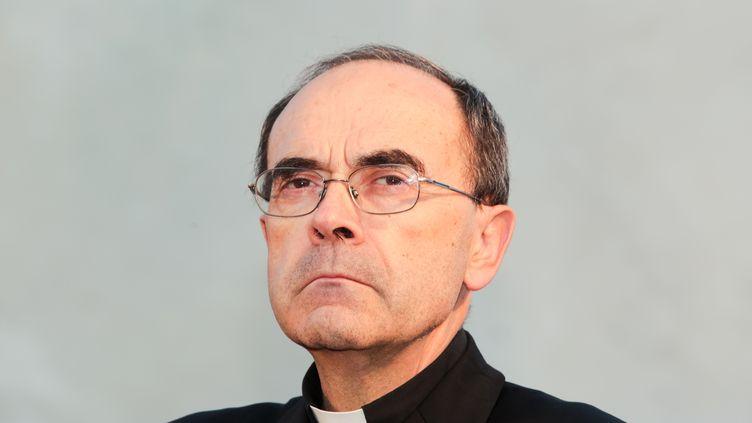 Le cardinal Philippe Barbarin, le 1er octobre 2014 à Lyon (Rhône). (KONRAD KILLIAN / CITIZENSIDE.COM / AFP)