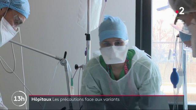 Covid-19 : comment s'organisent les hôpitaux face aux nouveaux variants ?
