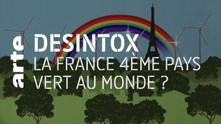 Environnement : non, la France n'est pas le 4e pays le plus vert au monde (ARTE/2P2L)