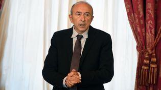 Le maire de Lyon, Gérard Collomb, le 19 novembre 2015. (PHILIPPE DESMAZES / AFP)