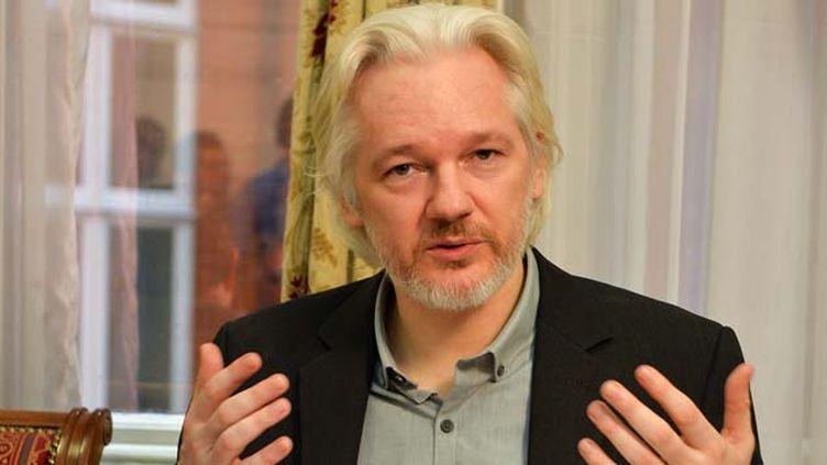 (Julian Assange, le fondateur de WikiLeaks © MaxPPP)