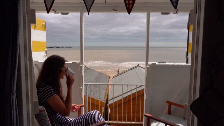 Royaume-Uni : les cabines de plage ont la cote (France info)