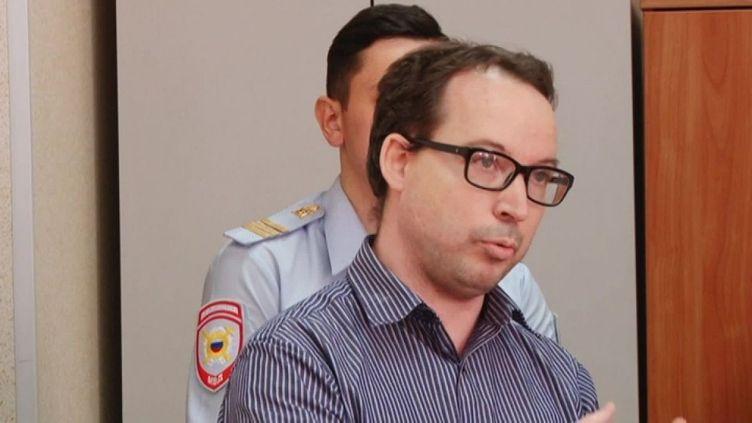 Le Français Gurvan Le Gall est incarcéré depuis cinq mois en Russie. (FRANCE 3 NORMANDIE)