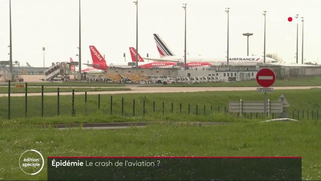 Épidémie : le crash de l'aviation ?