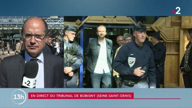 Perquisition à LFI : Jean-Luc Mélenchon comparaît devant le tribunal de Bobigny