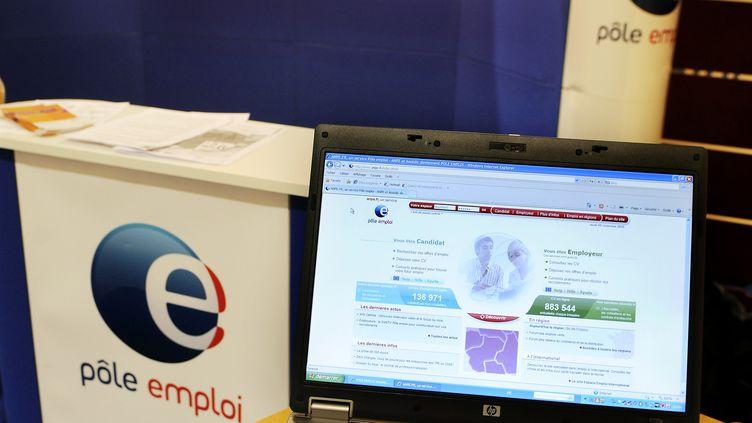 Dans une agence Pôle emploi, en décembre 2010. (ALAIN LE BOT / PHOTONONSTOP / AFP)