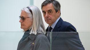 Les époux Fillon au tribunal de Paris le 24 février 2020. (MAXPPP)