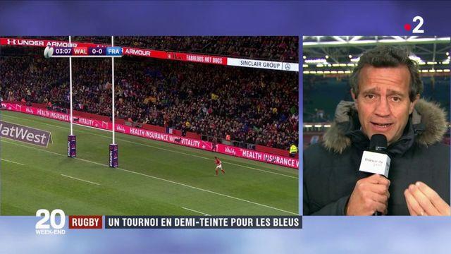 Rugby : un tournoi en demi-teinte pour les Bleus