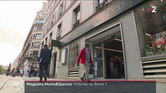 Alimentation : les magasins Marks&Spencer, victimes du Brexit