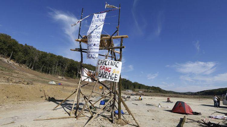 (Le projet de barrage à Sivens est dans le viseur de la Commission européenne © REUTERS/Régis Duvignau)