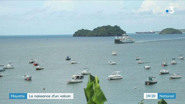 Mayotte : des scientifiques découvrent la naissance d'un volcan sous-marin