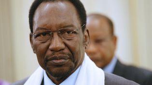 Le président malien par intérim, Dioncounda Traoré, le 13 juillet 2013 à Paris. (THOMAS SAMSON / AFP)