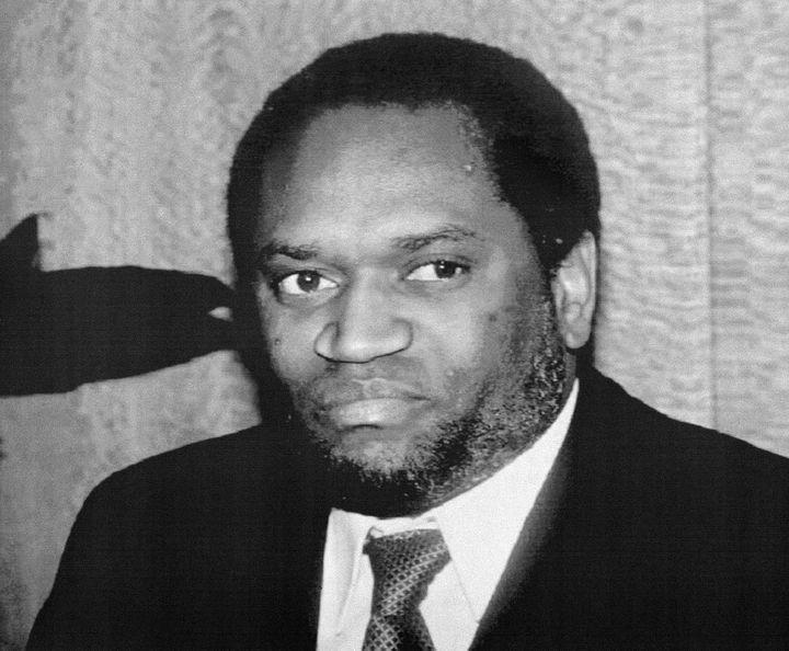 Le présidentMelchior Ndadaye, premier dirigeant hutu du Burundi, assassiné en 1993 pendant une tentative de coup d'Etat. Photo non datée. (DABROWSKI / AFP)