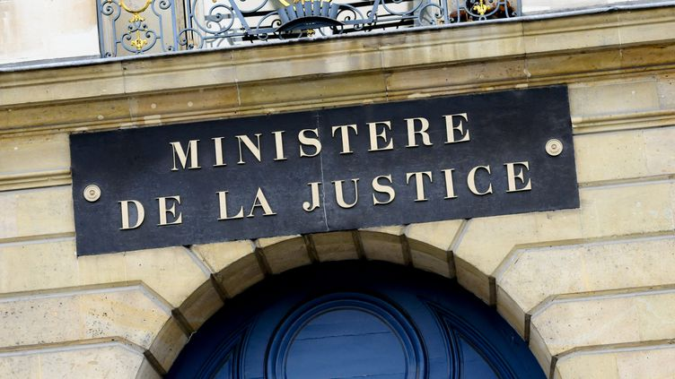 Leministère de la Justice, à Paris, en février 2011. (CHRISTOPHE MORIN  / MAXPPP)