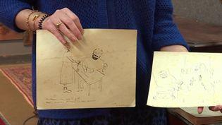 Art : de nouveaux croquis d'Henri Matisse découverts et mis aux enchères (CAPTURE D'ÉCRAN FRANCE 3)