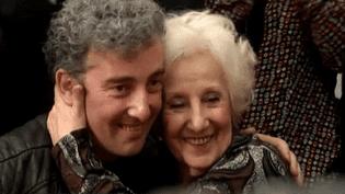 Ignacio Hurban et sa grand-mère, Estela de Carlotto  (France 3 Culturebox)