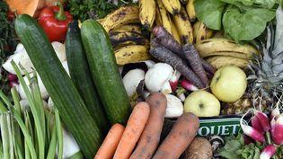 Des légumes et des fruits. (MIGUEL MEDINA / AFP)