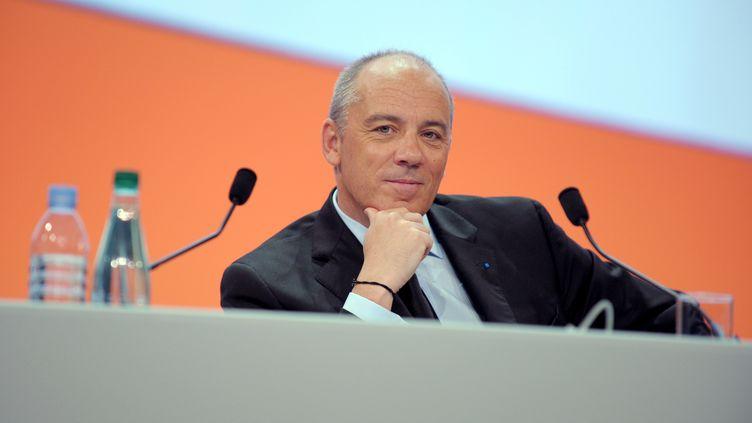 Le PDG d'Orange et ex-directeur de cabinet de Christine Lagarde, Stéphane Richard, le 28 mai 2013 à Paris. (ERIC PIERMONT / AFP)