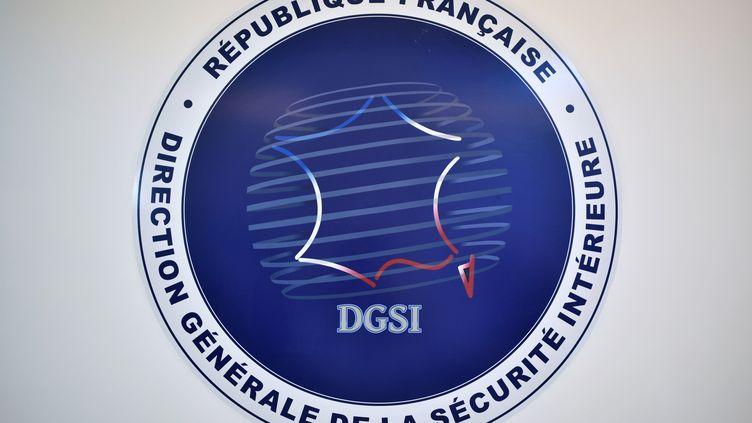 Le logo de la Direction générale de la sécurité intérieure. (STEPHANE DE SAKUTIN / POOL)