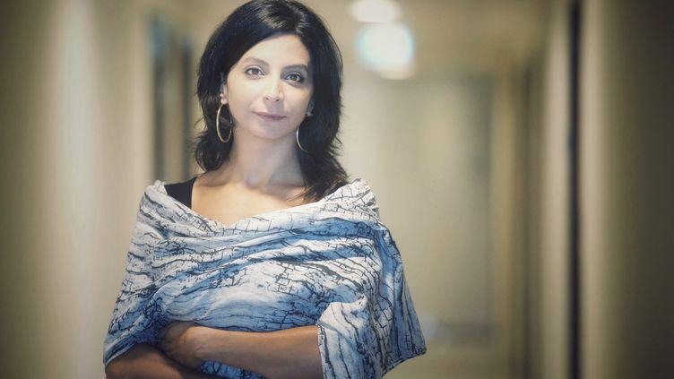 La metteuse en scène et cinéaste libanaise Zeina Daccache. (IRENE MOURANI)