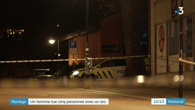 Norvège : un homme vise des passants avec un arc et des flèches, cinq personnes sont mortes