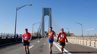 Le marathon de New York aura lieu le 8 novembre 2021. (TAYFUN COSKUN / ANADOLU AGENCY)