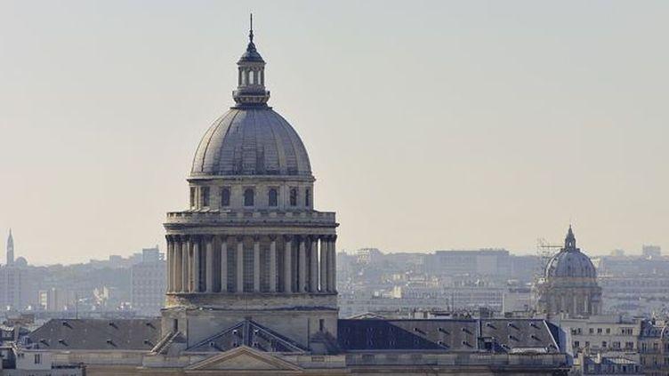 Le toit du Panthéon à Paris.  (Yves Talensac / AFP)