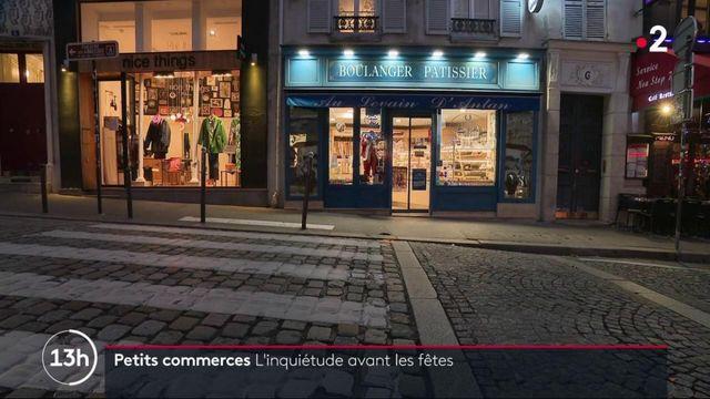 Fêtes de fin d'année : les petits commerçants s'inquiètent
