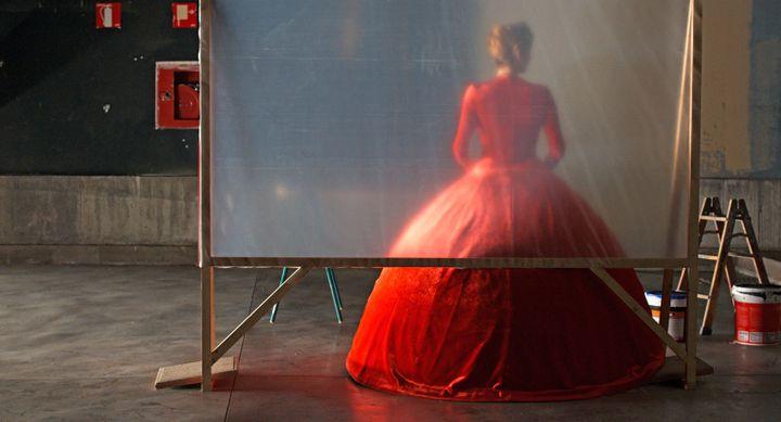 "Tilda Swinton dans ""La Voix humaine"" dePedro Almodóvar. (Copyright IGLESIAS MAS)"