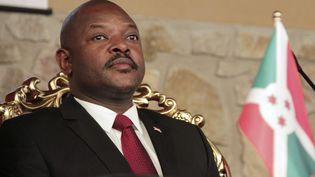 Le président du Burundi, Pierre Nkurunziza. (Photo AFP)