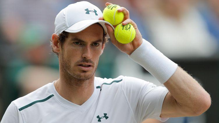 Andy Murray n'a plus rejouer depuis son quart de finale perdu à Wimbledon