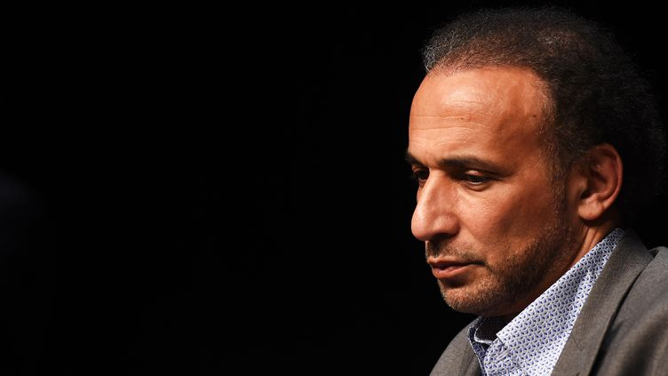 L'islamologue suisse Tariq Ramadan le 26 mars 2016, à Bordeaux. (MEHDI FEDOUACH / AFP)