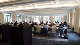 La professeur stagiaire utilisait un ordinateur de l'université Lyon 1 pour écrire des messages de menaces visant le personnel et les éléves chrétiens de l'Ecole supérieure de professorat. (MAXPPP)