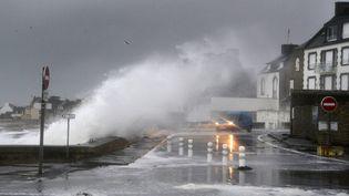 Le port du Guilvinec (Finistère), le 2 février 2017. (MAXPPP)