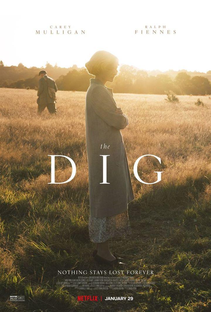 """L'affiche de """"The Dig"""" de Simon Stone. (NETFLIX)"""