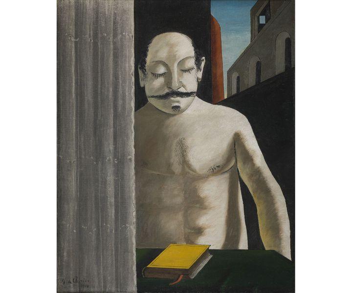 """Giorgio de Chirico, """"Le Cerveau de l'enfant"""", 1914,Suède, Stockholm, Moderna Museet Stockholm (Photo © Moderna Museet / Stockholm© ADAGP, Paris, 2020)"""