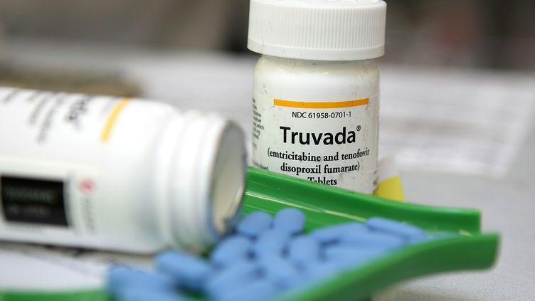 Des comprimés de Truvada, un antirétroviral qui peut être utilisé comme traitement préventif contre le VIH. (JUSTIN SULLIVAN / AFP)