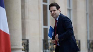 Matthias Fekl arriveau Palais de l'Elysée, le 7 octobre 2016 à Paris. (STEPHANE DE SAKUTIN / AFP)