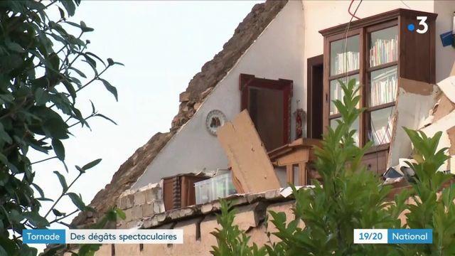 Tornade : des dégâts importants dans l'est de la France et au Luxembourg