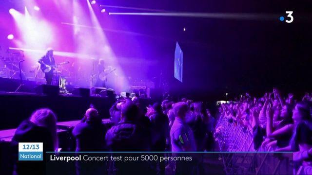 Royaume-Uni : un concert test a rassemblé 5 000 personnes à Liverpool