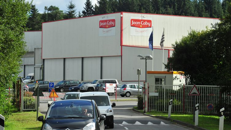 L'usine Jean Caby, du groupe agroalimentaire Financière Turenne Lafayette, à Lampaul-Guimiliau (Finistère), le 10 octobre 2013. (CLAUDE PRIGENT / MAXPPP)