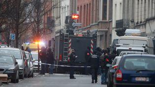 Des policiers français ont participé à l'opération visant à arrêter Salah Abdeslam. (MAXPPP)