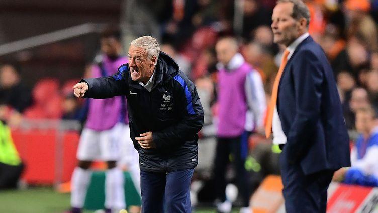 Didier Deschamps et Danny Blind (EMMANUEL DUNAND / AFP)