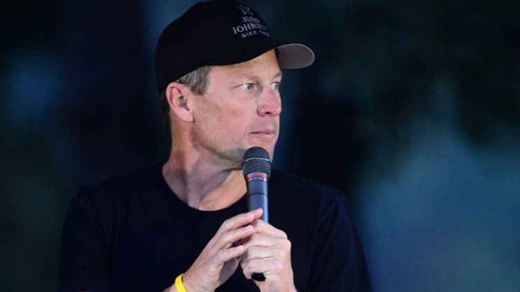 Lance Armstrong (FREDERIC J. BROWN / AFP)